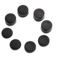 Extra High Silicone Thumb Grips Thumbstick Raised Cap Cover for PS4 PS3 Dualshock 4 Switch PRO Xbox 360 Controller Gamepad 8 pcs /lot