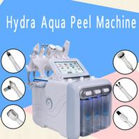 Многофункциональный 6-в-1 H2 Hydro Dermabrasion Aqua Peel Портативный гидра-лицевой кислородный вливатель Hydra Микродермабразия Hydro Machine Spa Использовать