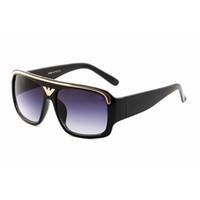 Высококачественные большие негабаритные солнцезащитные очки мужские моды солнцезащитные очки Eagle Designer Eyewear для мужских женских винтажных спортивных солнцезащитных очков