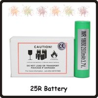 100% High Quality 25R 18650 INR Battery 2500mAh 3. 7V 20A Rec...