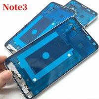 D'origine pour Samsung Galaxy Note 3 N9005 N900 arrière Moyen Cadre téléphone boîtier couverture arrière avec caméra lentille en verre Note3