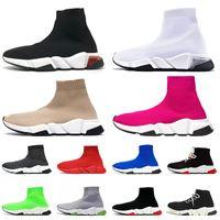 Clearsole 블랙 화이트 베이지 2020 디자이너 양말 신발 여성 남성 플랫폼 인과 신발 체배기 빈티지 고급 양말 부츠 스포츠 운동화