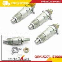 3`lü Yeni Yakıt enjektörleri Kubota D1302 D1402 V1702 V1902 Motoru için 15271-53000