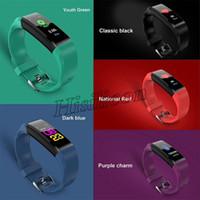 115 und ID115 Smart-Armband mit Herzfrequenz-Smart-Armband Fitness Tracker Blutdruck Armband PK ID116 und M3 M4