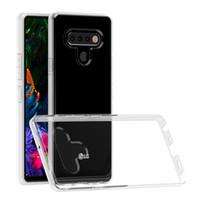2mm dicke klare stoßfeste TPU-Telefon-Taschen für Moto G Play Power Stylus 2021 Redmi-Anmerkung 10 lg stylo 6 5 transparentes Gehäuse