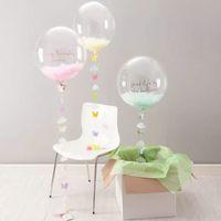 20 pouces 24 pouces 36 pouces Bobo Transparent Clair Ballons Mariage Mariage Hélium Ballons Gonflables Enfants Cadeaux Décor De La Fête Transparent Ballons