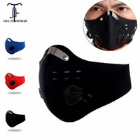 Bike Mask Activated Carbon Filter Buff Manchester Bandanas C...