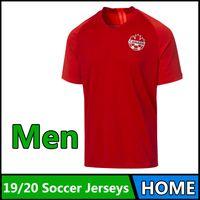 S-4XL 2019 2020 Kanada Yetişkin Futbol Formaları Ev Gömlek 2019 Kanada Ulusal Takım Futbol Forması 19 20 Hoilett Futbol Gömlek Çalışan Formalar