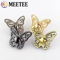 Meetee Women Bag Lock Mortise Locks Metal Twist Turn Lock Sn...