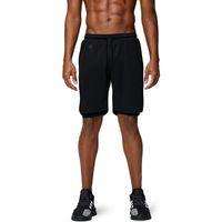 Entrenamiento Lixada Hombres Pantalones cortos para correr Gym Pantalones cortos 2 en 1 Athletic con bolsillos deportes al aire libre Entrenamiento