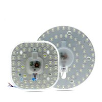 Panel LED Downlight 12W 18W 24W 36W 2835 Módulo LED SMD de alto brillo Fuente de iluminación de techo para lámparas de iluminación interior
