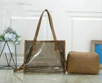 Оптовая бесплатная мода новая сумка из пекаря мода горячая желлие сумка на плечо прозрачное прозрачное ведро ПВХ сумка для женщин модный сумка
