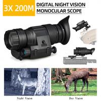 Новый дизайн 3x32 оптика цифровой тактический прицел ночного видения для охоты прицел Wargame Бесплатная доставка CL27-0027