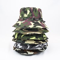 Fashion Bucket Hat Fisherman Cap Men Women Summer Outdoor Vi...
