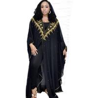 Ropa étnica Lentejuela Bolero Shrug Djelaba Mujer Se encoge de hombros Niqab Abaya Kimono Musulma Musulmán Largo Cardigan Islámico Africano Dubai Turquía