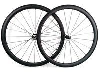 Sprint super light Roues en carbone, 38 mm de profondeur, 25 mm de largeur, Tubcher. Roues en carbone pour vélo de route UD, finition mate