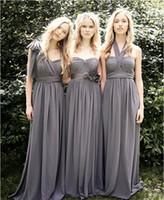 2020 Wendy Robes de bal Une ligne Robes de soirée Robes longues demoiselle d'honneur longueur de plancher junior Bridemaids Robes