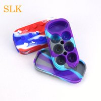6+ 1 Non- stick Jars Dab Container Silicon Case For Vaporizer ...