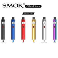 SMOK Nord Aio 22 Kit Built-in 2000mAh batteria con 3.ml serbatoio 0.6ohm Nord Mesh Coil Tri-color Indicatore Vape Pen Kit LED 100% originale
