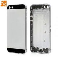 30 pcs Top A de qualité Boîtier complet Back Batterie Couvre-porte Middle Cadre Métal pour iPhone 5 5G 5S SE Pièce de rechange