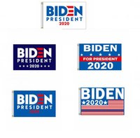 Joe Biden Flag 90 * 150cm Garten Flags Präsident USA Big Hanging Trump 2020 Flying Flag amerikanische Dekor Banner GGA3466