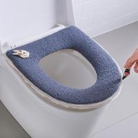 fermuarlar mat kapak closestool yıkanabilir bez koltuk kılıfı pedleri klozet vaka ile sıcak yumuşak klozet kapağı kalınlaşır