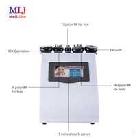 Verschiffen frei Heiße 5 in 1 40K Cavitation Laser Ultraschallfettabsaugung Weight Loss Abnehmen Maschine zum Verkauf