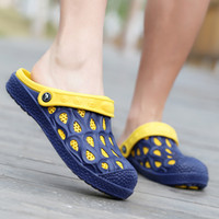 Fashion Men Shoes Beach Sandals Hole Shoes Mens Shoes Clogs ...