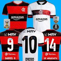 Третий третий CR Фламенго 2020 2021 футбол Джерси 20 21 Flamenco прочь белый Камиз де Futebol GUERRERO DIEGO 2020 футбола рубашка трико