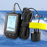 Erchang XF02 Portable Fish Finder Water Depth Temperature Fi...