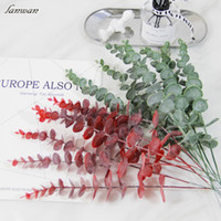 Artificial Eucalyptus Leaves Flower Photo Props Fake Flowers...