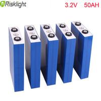 20pcs / lot 3.2V 50Ah LiFePO4 Lithium-Ionen-Akkupack für Elektro-Fahrrad, Golfwagen, Skateboards, Scooter, E-Bike