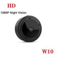 Kablosuz WiFi Mini IP kamera W10 Full HD 1080P 2.0MP Gece görüşü Mikro kamera dijital video kaydedici destek hareket algılama