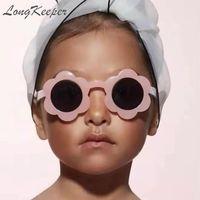 2020 مولود جديد للأطفال عباد الشمس النظارات الشمسية الجدة لعب أطفال بنين بنات ظلال الطفل ANTI-UV نظارات شمسية في الهواء الطلق
