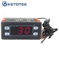 AC 220V 30A Цифровой термостат Регулятор для контроллера температуры инкубаторов с 2M NTC датчик светодиодного дисплея