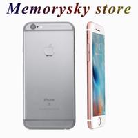 "Apple iPhone 6 6 s iphone6 artı Çift Çekirdekli 4.7 ""5.5 '' 1 GB RAM 16 GB / 64 GB / 128 GB ROM 8MP parmak izi Orijinal Yenilenmiş unlocked Cep Telefonu"