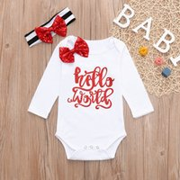 good quality Newborn Baby clothes Boys Clothing Set 2PCs Let...