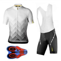 New 2019 Team Mavic Cycling Jerseys Bike Wear clothes Quick-...