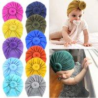 مل 3pcs الصلبة الآذان الترتر الإسفنج الطفل قبعات قبعات المخملية العمامة BOWKNOT قبعة غطاء للأذنين طفل سكولي للأطفال بنين بنات