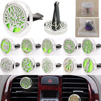 Aromatherapy Car Air Freshener Essential Oil Diffuser Locket...
