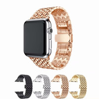 Fashion 316L strap for apple watch series 4 3 2 1 Men Women ...