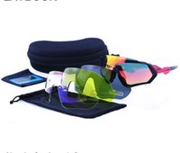 UV400 Brand NEW style 4 Lens Cycling Glasses Bicycle Cycling...