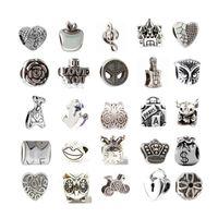 Mix mindestens 33 Stillegierung Charme Perle Modeschmuck Europäischen Stil Für Pandora Armband Promotion