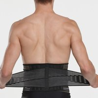 Body Back Protection Weightlifting Bodybuilding Waist Suppor...