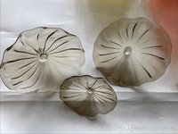 Ручные выдувного муранского Art Glass украшение стены Планшеты Fancy светодиодных декоративные настенные светильники Индия Murano Art Glass украшение стены плита