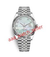10 estilos Mens Mecânico Movimento Automático Relógios Datejust 126333NG 126301 126333 Mop Dial Dial SS316L Jubileu Pulseira relógio de pulso
