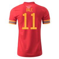 2020 GALES Yetişkinler Çocuklar Futbol Formaları Balya Ramsey Futbol Camisas Galce Futbol Camisetas Gömlek Kiti Setleri Maillot Maglia