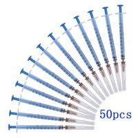 Einweg-Kunststoff-sterile Spritze 1 ml Spritze mit Nadeln 1cc Injektor für Labor und Industrie Dispensing Klebstoffe Kleber Lotpaste
