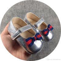 Детские туфли новорожденных мальчиков девочек узор первые ходунки детей малыши PU кроссовки 0-18 месяцев Предыдущая весна осень B103