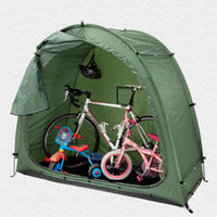 الخيام والمأوى للماء خيمة الدراجة تخزين سقيفة 190T دراجة مع تصميم النافذة في الهواء الطلق التخييم الشتاء الصيد